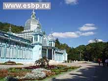 Железноводск. Курортный парк. Пушкинская галерея